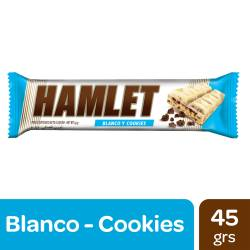 Tableta Chocolate Blanco Hamlet Cookies x 45 g.