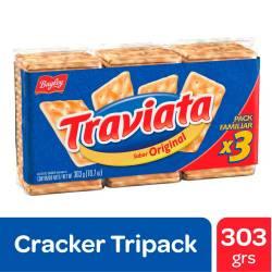 Galletitas Crackers Traviata x 303 g.