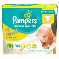 Pañal Pampers Regular RN x 20 un.