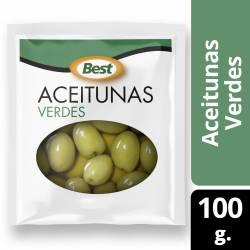 Aceitunas Verdes Sachet Best x 100 g.