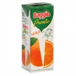 Jugo Natural Baggio Pronto Naranja x 200 cc.