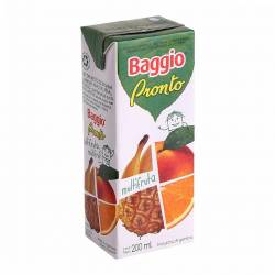 Jugo Natural Baggio Pronto Multifruta x 200 cc.