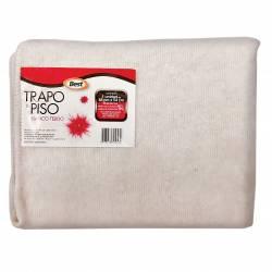 Trapo de Piso Blanco Best Tejido 48x54cm x 1 un.