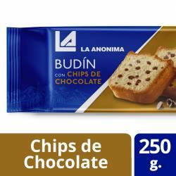 Budín con Chips de Chocolate La Anónima x 250 g.