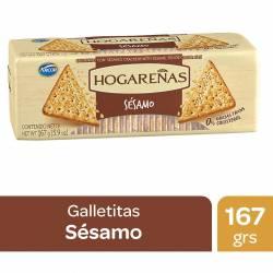 Galletitas Cereal con Sésamo Hogareñas x 167 g.