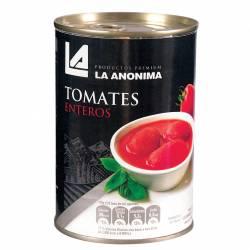 Tomate Perita Entero La Anónima con Abre Fácil x 400 g.