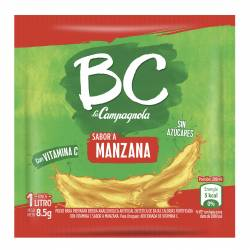 Polvo para preparar jugo BC Manzana x 7 g.