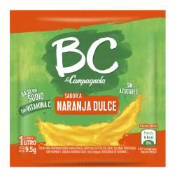 Polvo para preparar jugo BC Naranja Dulce x 7 g.