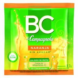 Polvo para preparar jugo BC Naranja x 7 g.