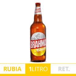 Cerveza Brahma Retornable x 1 lt.
