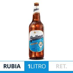 Cerveza Quilmes Cristal Retornable x 1 lt.