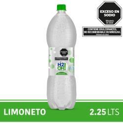 Agua con gas H2Oh Limoneto x 2,25 lt.