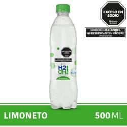 Agua con gas H2Oh Limoneto x 500 cc.