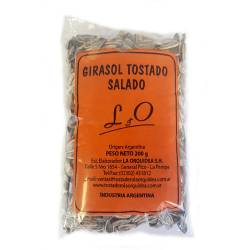 Girasol Tostado Salado x 200 gr