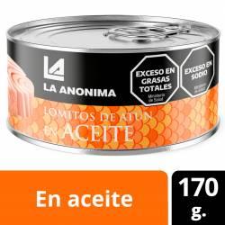 Atún en Aceite en Lomos La Anónima x 170 g.