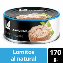 Atún al Natural en Lomos La Anónima x 170 g.