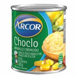 Choclo Desgranado Arcor Cremoso Amarillo x 300 g.