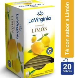 Té en Saquitos Limón La Virginia x 20 un.