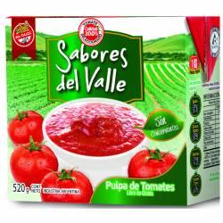Puré de Tomates Sabor del Valle x 520 g.
