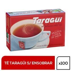 Té en Saquitos Taragüí x 100 un.