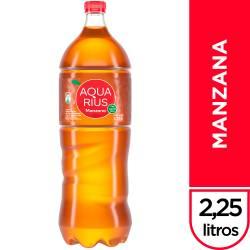 Agua sin gas Aquarius Manzana x 2,25 lt.