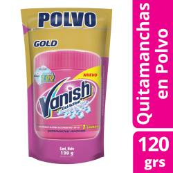 Quitamanchas Polvo Vanish Oxi-Gel Multiuso Doy Pack x 120 g.