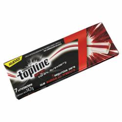 Chicles Top Line Frutilla x 7 un. x 14 g.