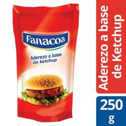 Aderezo a Base de Kétchup Fanacoa Doy Pack x 250 g.