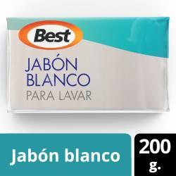 Jabón en Pan Blanco Best x 1 un. x 200 g.