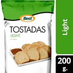Tostadas Light Best x 200 g.