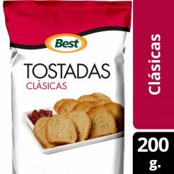 Tostadas Clásicas Best x 200 g.
