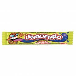 Caramelos Masticables Lenguetazo Frambuesa Pinta Lengua x 13 g.