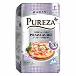 Harina con Levadura para Pizzas Pureza x 1 kg.