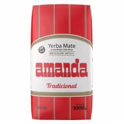 Yerba Mate Tradicional Amanda x 1 kg.