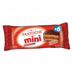 Alfajor Mini Chocolate Fantoche x 6 un. x 150 g.
