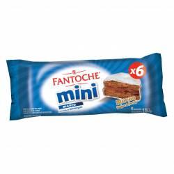 Alfajor Mini Dulce de Leche Fantoche x 6 un. x 150 g.
