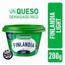 Queso Untable Light Finlandia Vitaminas A y D x 200 g.