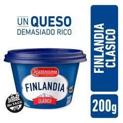 Queso Untable Finlandia Vitaminas A y D x 200 g.