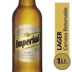 Cerveza Imperial Retornable x 1 lt.