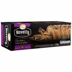 Helado Chocolate y DDL Novelty Frigor x 535 gr.