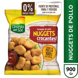 Nuggets de Pollo Crocantes Granja del Sol x 900 gr.