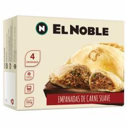 Empanadas Carne Suave x 4 un. El Noble x 320 gr.