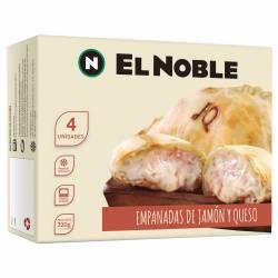 Empanadas Jamón y Queso x 4 un. El Noble x 320 gr.
