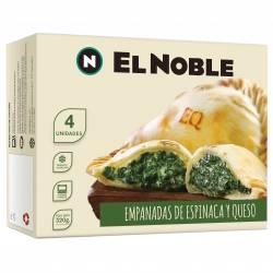 Empanadas Espinaca y Queso x 4 un. El Noble x 320 gr.