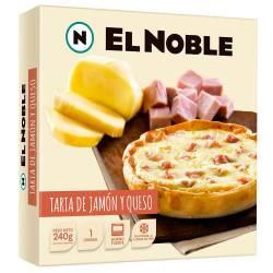 Tarta de Jamón y Queso El Noble x 240 gr.