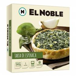 Tarta de Espinaca El Noble x 240 gr.