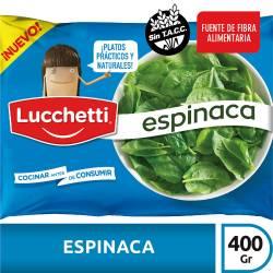 Espinaca Lucchetti x 400 gr.