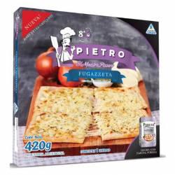 Pizza Fugazzeta Cebolla y Mozzarella Pietro x 420 gr.