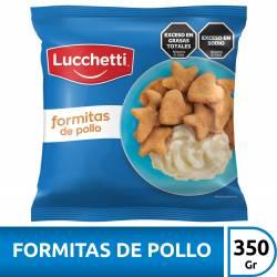 Formitas de Pollo Rebozados Lucchetti x 350 gr.
