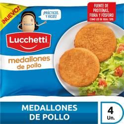 Medallones de Pollo Rebozados Lucchetti x 280 gr.